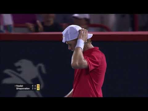 Denis Shapovalov stuns Rafael Nadal in Montreal