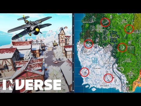 Fortnite Season 7: Where To Find X-4 Stormwing Plane Locations  | Inverse