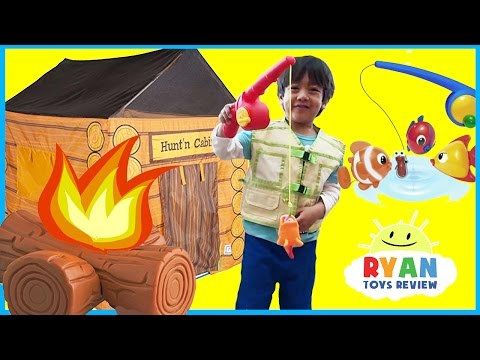 Pretend Play Food Toys Cooking Compilation Video for kids! Family Fun Activities Camping Kitchen