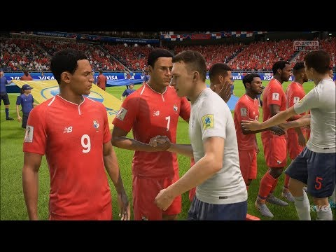 2018 FIFA World Cup Russia - England vs Panama - Gameplay (HD) [1080p60FPS] - 동영상