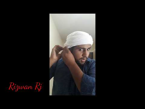 How to wear Shemagh Arab style || Eid special