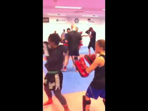 Malmö Muaythai training