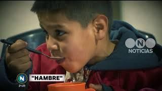 Telefe Noticias Documenta: hambre, una crónica incómoda