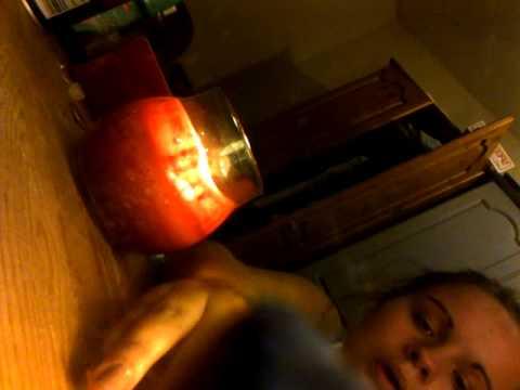 tampon burning...