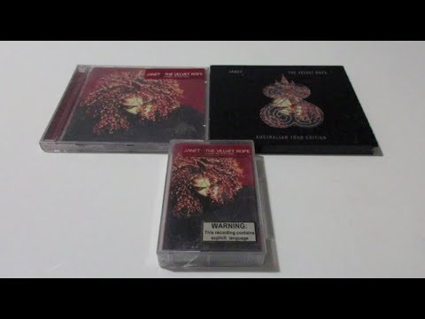 Unboxing: Janet Jackson - The Velvet Rope CDs & Cassette (1997)