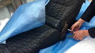 замена спинки сиденья ваз 2109
