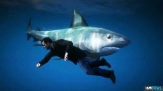 GTA 5 Gameplay SHARK ATTACK !