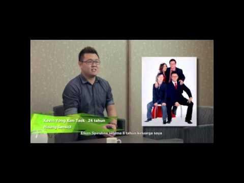 Testimoni Spirulina Organik: Kevin Yong (Masalah Hidung Sensitif)