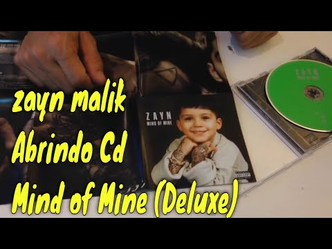 Abrindo Cd _ Zayn Mind Of Mine (Deluxe)