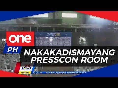 Foreign Media, Dismayado Sa Hindi Natapos Na Presscon Room Sa Rizal Stadium | ONE BALITA