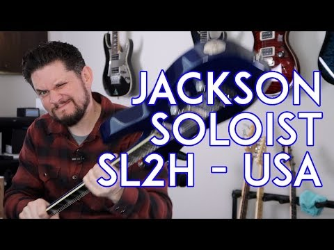 Jackson Soloist SL2H Guitar Review - And My Experience W/ Guitar Center Used Online
