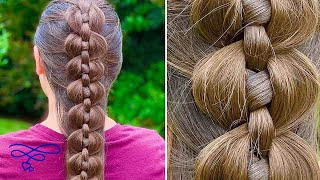 French Vertical Link Braid