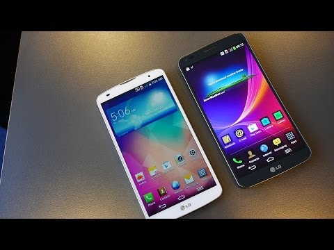 LG G Pro 2 vs LG G Flex - Quick Look