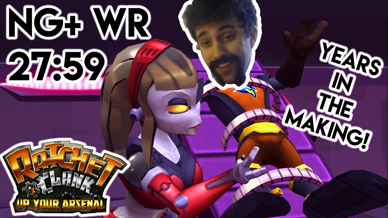 Ratchet and Clank: Up Your Arsenal NG+ no QE Speedrun in 27:59 [World Record]