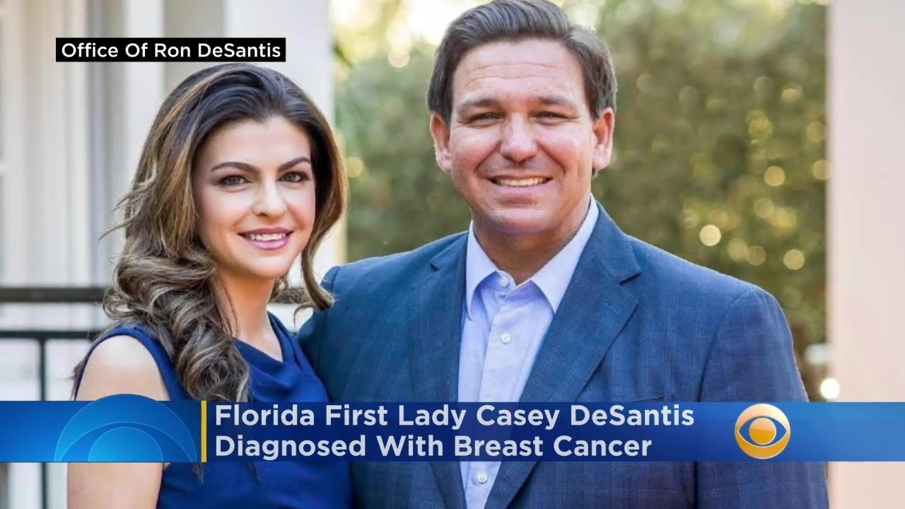 Casey DeSantis, wife of Florida Gov. Ron DeSantis, diagnosed with ...