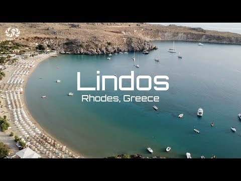 Greece, Rhodes Lindos bay