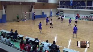 5日 ハンドボール女子 福島商業高校 帯広三条×添上 1回戦