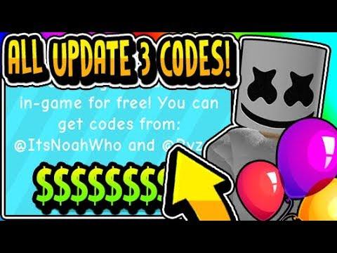 All Balloon Simulator Update 3 Codes 2019 Balloon Simulator