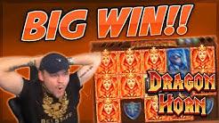 BIG WIN!!! Dragon Horn BIG WIN - Casino Games from CasinoDaddy (Gambling)