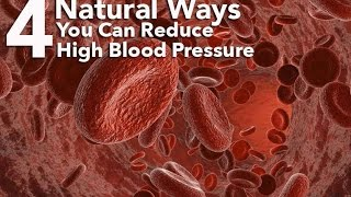 4 Ways You Can Reduce High Blood Pressure