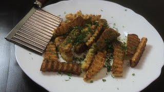 Жарим картошку. Фигурный нож. Посылка с Aliexpress. Гаджеты для кухни из Китая
