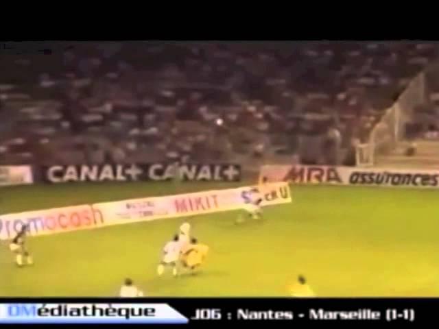 Nantes / Marseille - 1990/1991