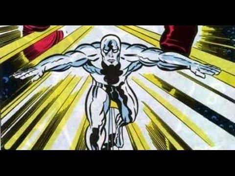 Silver Surfer graphic novel (Jack Kirby art) panel for panel musical slideshow