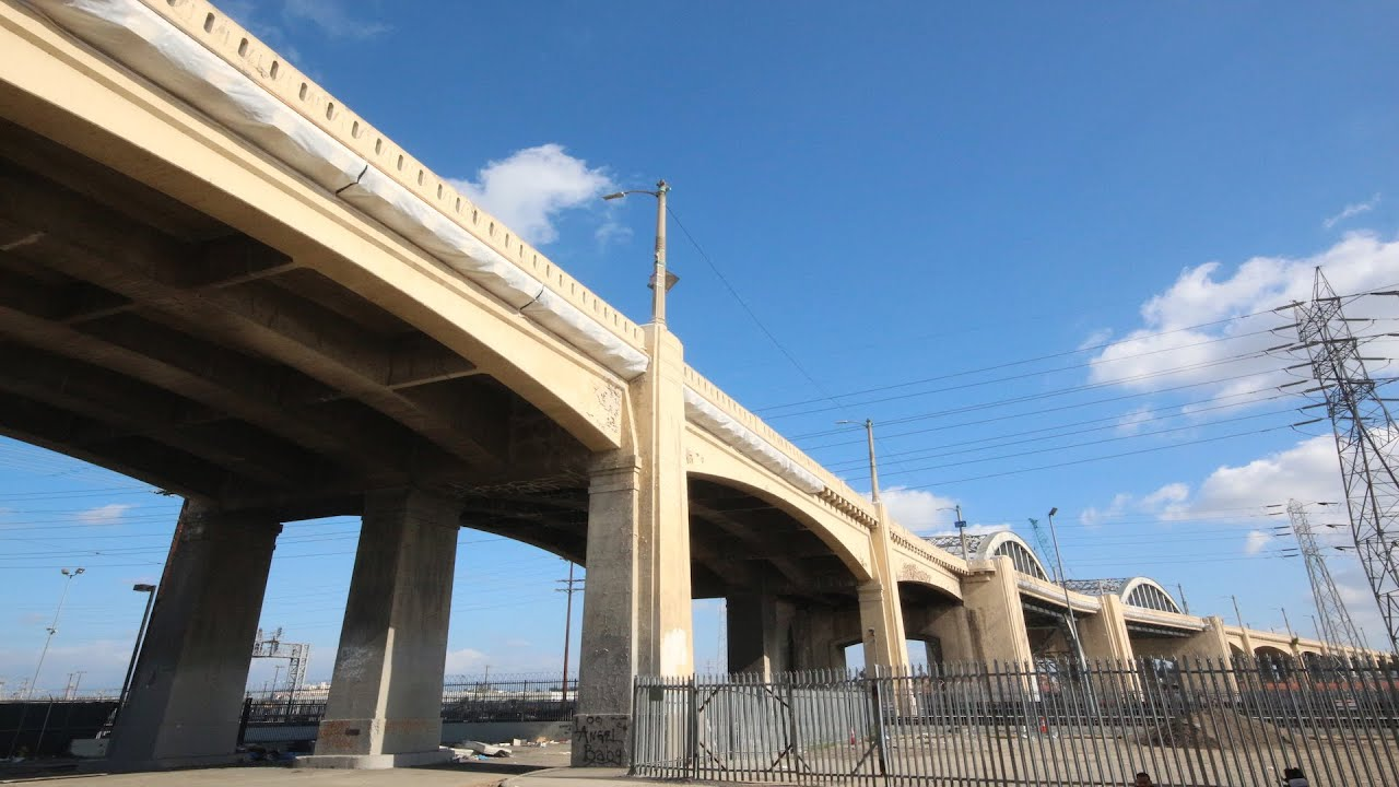 Farewell 6th Street Bridge - Downtown Los Angeles Iconic ...