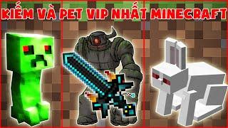 Kiếm Và Pet Vip Nhất Minecraft ?? Thử Thách Noob
