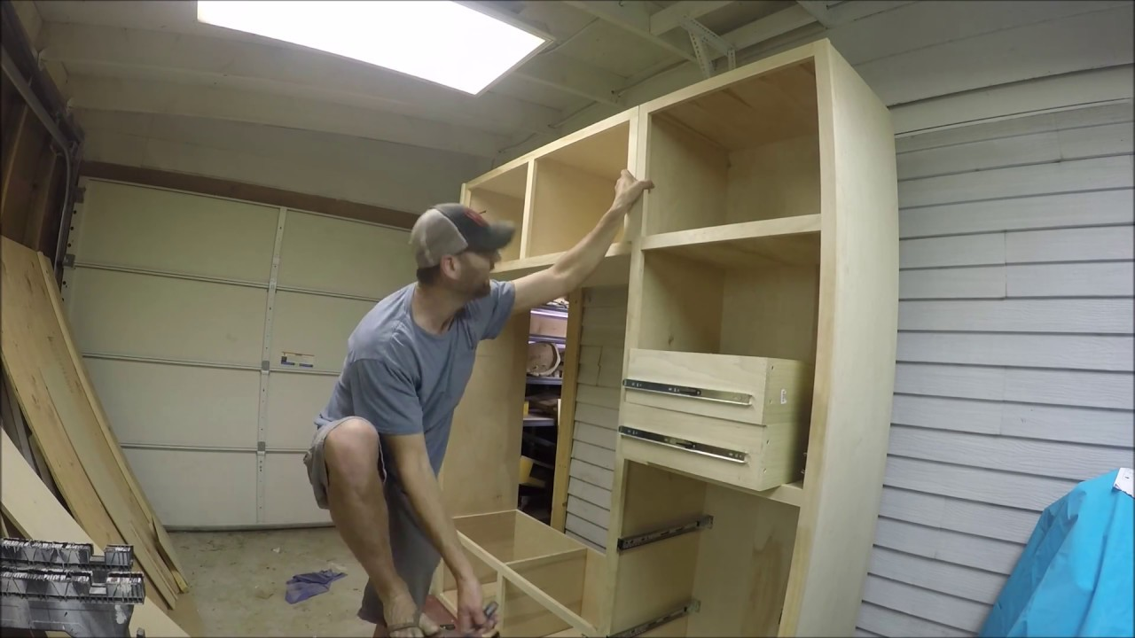 How To Build A Kitchen Pantry Pt 4