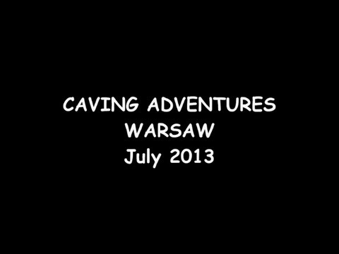 Warsaw Caving Adventures July 2013