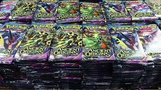 Opening 1,000 Ancient Origins Pokemon packs thumbnail