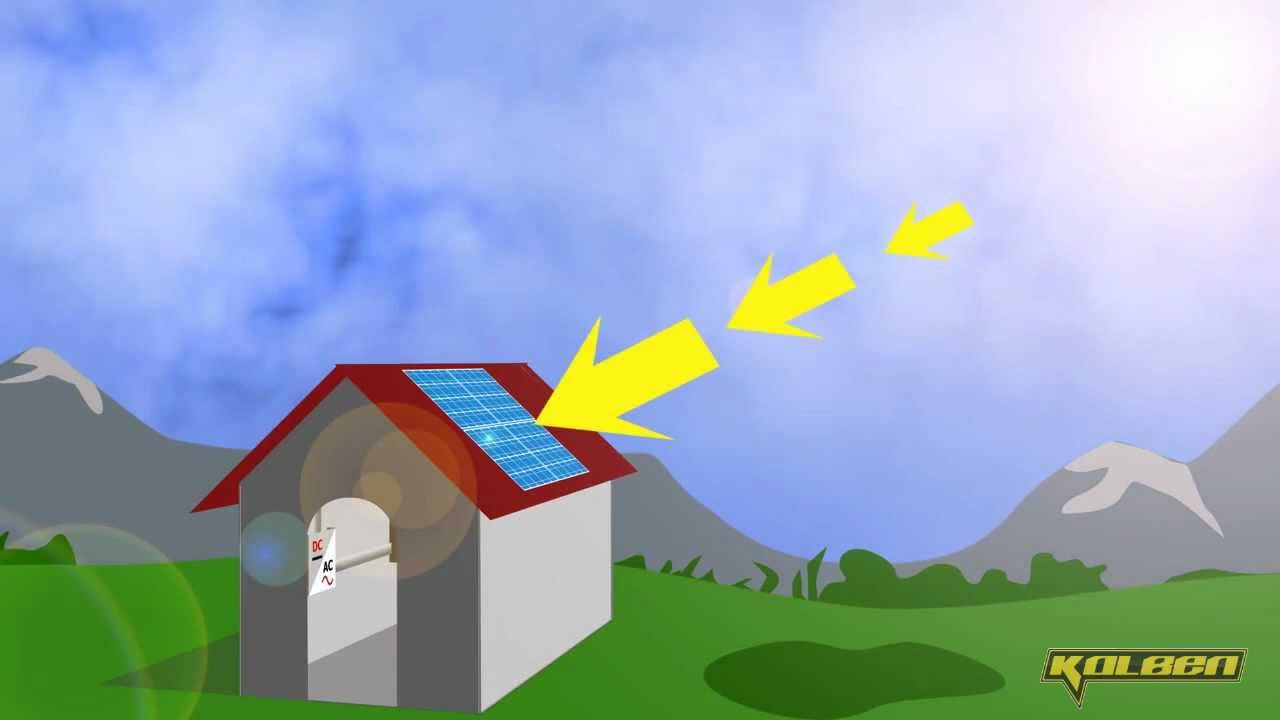 Como Funcionan Los Paneles Solares Youtube