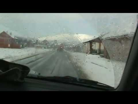 A Winter Drive in Kosovo