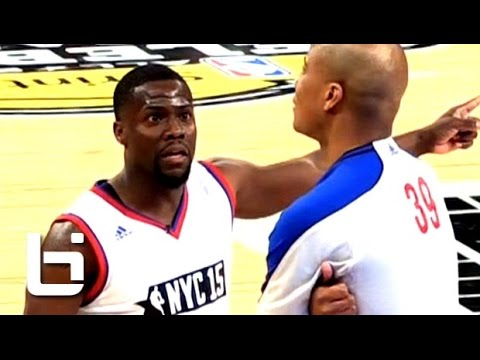 Thumbnail: Kevin Hart FUNNY Basketball Moments On His Way to 4th Celebrity Game MVP in Kevin Hart Fashion