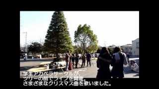 2012年12月20日、学生のアカペラサークルによるクリスマスライブが、聖...