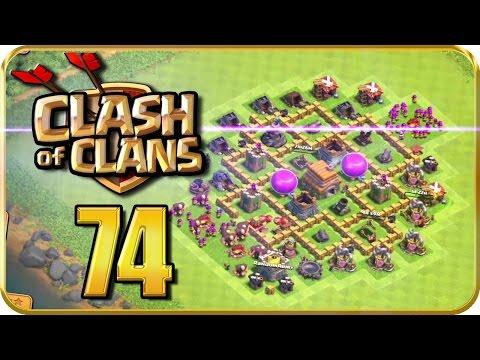 Let's Play CLASH of CLANS Part 74: Dorfumgestaltung für eine perfekte Verteidigung!