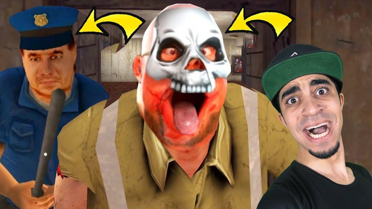 الشرطة تقبض على الجزار الشرير السيد لحمه المرعب | Mr Meat !!