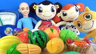 Canım kardeşim Müge Mine Mıncır ve manav Keloğlan ile renklerle sebzeleri ve meyveleri öğreniyoruz
