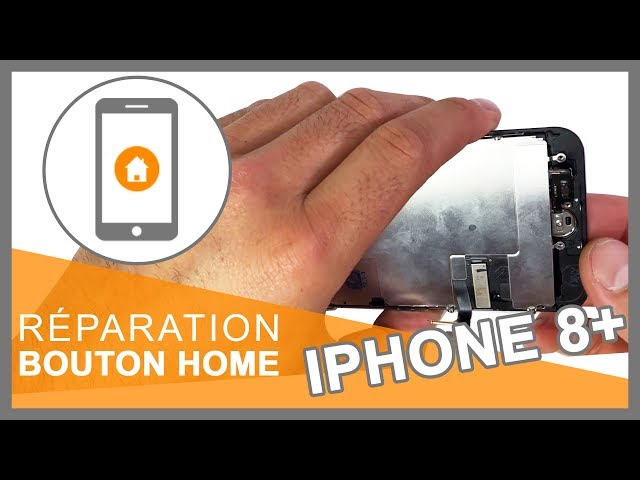 Réparation Bouton home iPhone 8 Plus