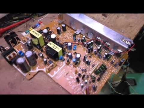 Experimenting With Cheap 5 1 Dvd Home Theatre Amp Circuit Youtube