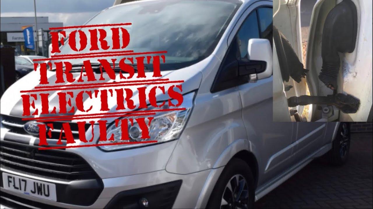 ford transit faulty electrics wont open alarm probems electric windows stuck door loom cut [ 1280 x 720 Pixel ]