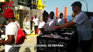 Schiff mit Flüchtlingen findet keinen Hafen