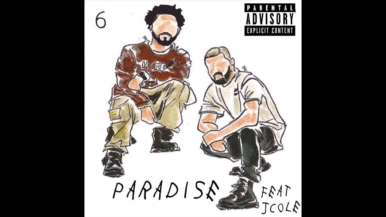 J Cole Eyebrows Vs Drakes Drake Paradise ...