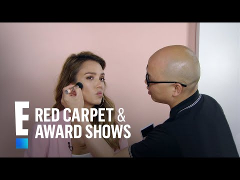 Jessica Alba's Makeup Tutorial With Honest Beauty Products | E! Live from the Red Carpet