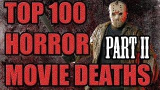 Top 100 horror movie deaths (part ii) #80-#61