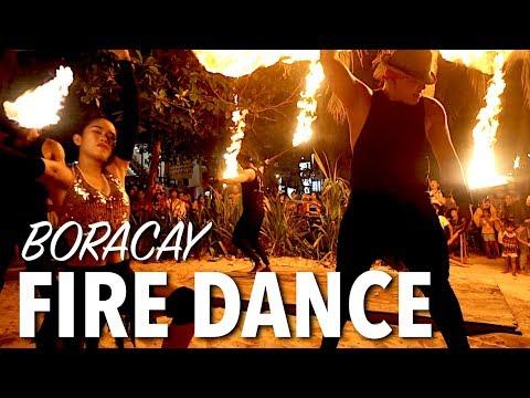 Philippines Fire Dancers - Insane Fire Dance Show