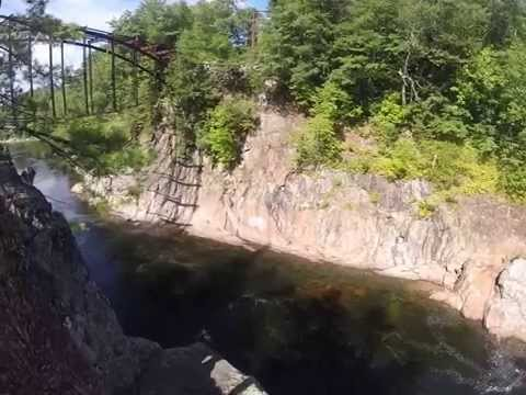 Livermore Falls Cliff Jump
