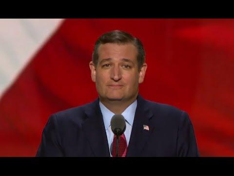 Ted Cruz Booed During RNC Speech - YouTube