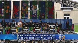 Pittsburgh Native David Tepper, Graduate Ted Danson Speak At CMU Commencement